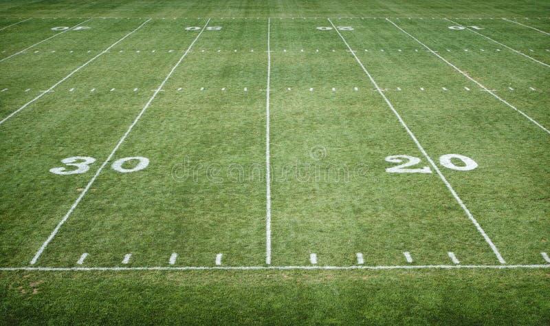 Football Field Stock Image