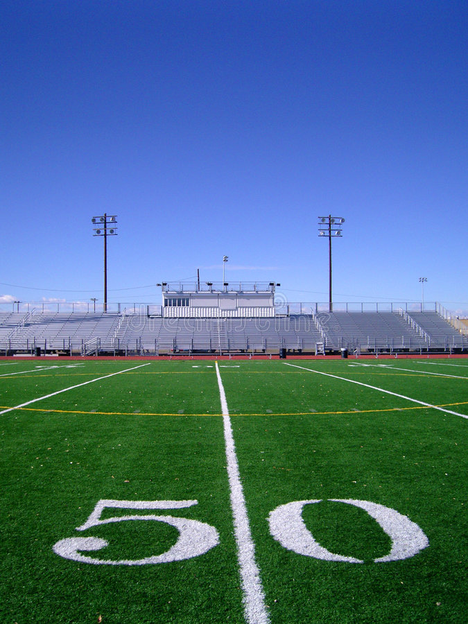 Free Football Field 4 Royalty Free Stock Images - 1532209