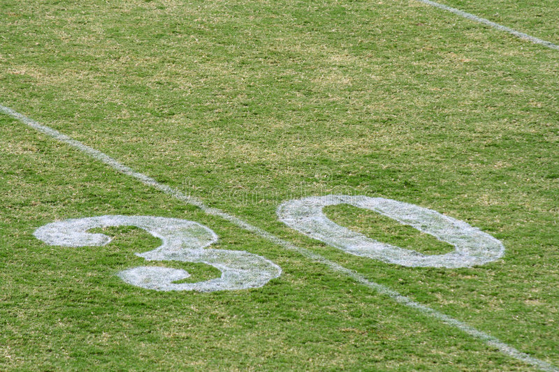 Download Football Field stock image. Image of field, marking, recreation - 4882341