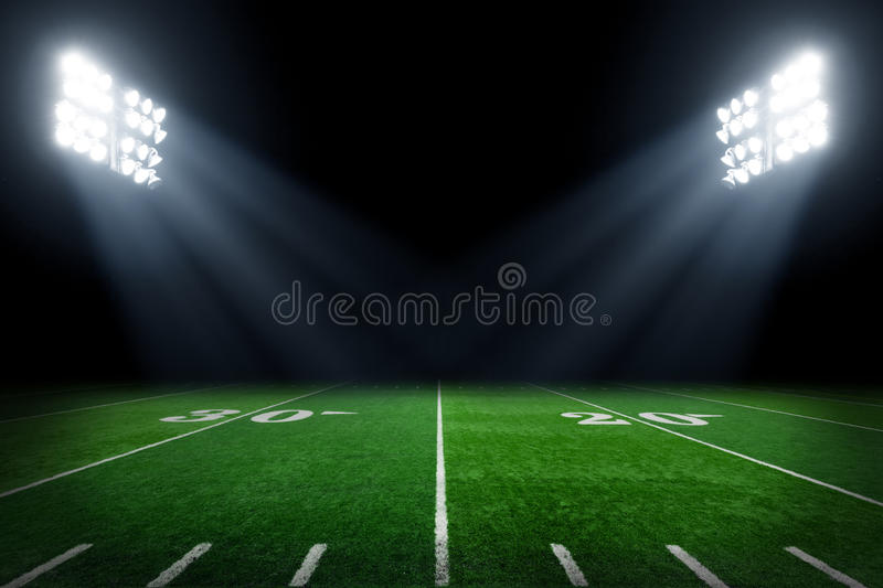 Download Football field stock photo. Image of football, sport - 64951738