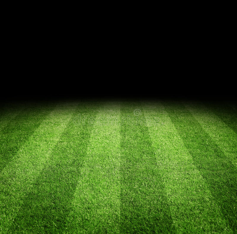 Football field background stock image. Image of clean ...