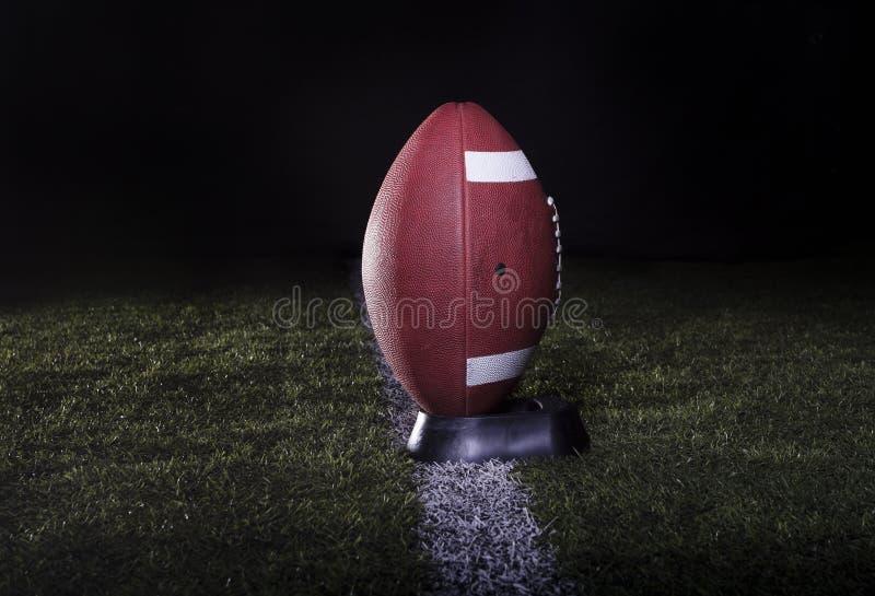 Football Field Kickoff stock photography