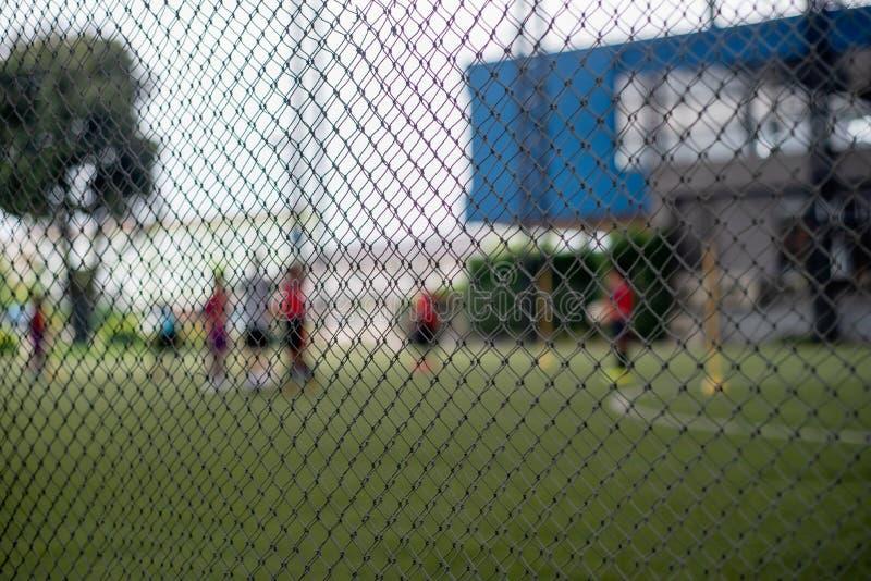 Football field or soccer field. Football stadium stock image