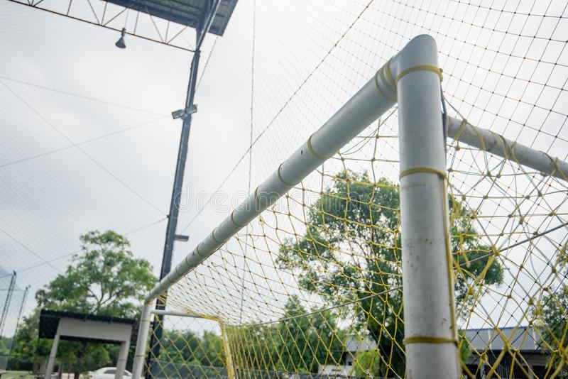 Football field or soccer field. Football stadium stock images
