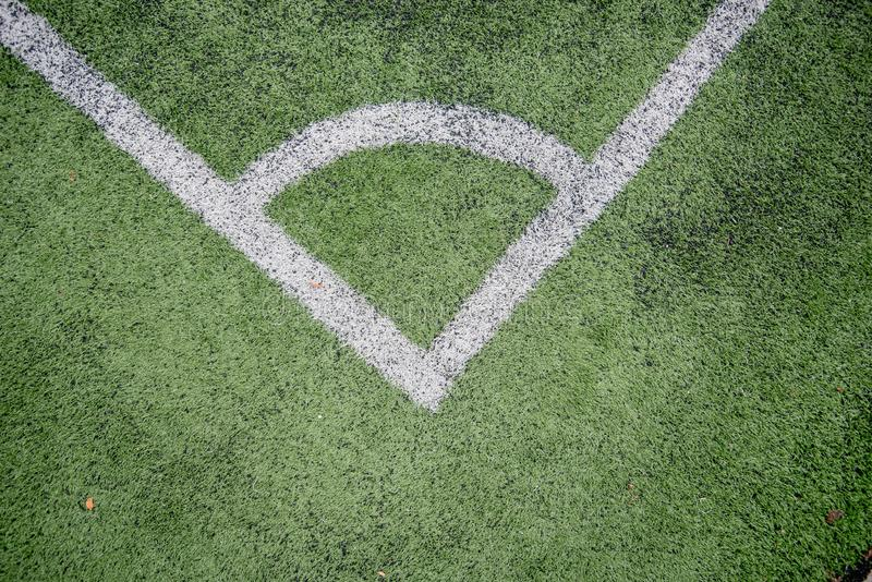 Football field or soccer field. Football stadium stock photos