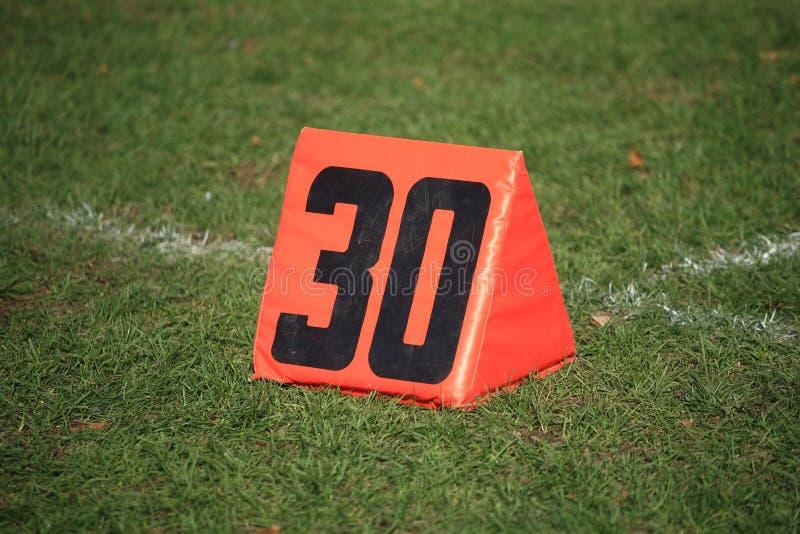 Download Football Field Yard Marker stock image. Image of football - 21727489