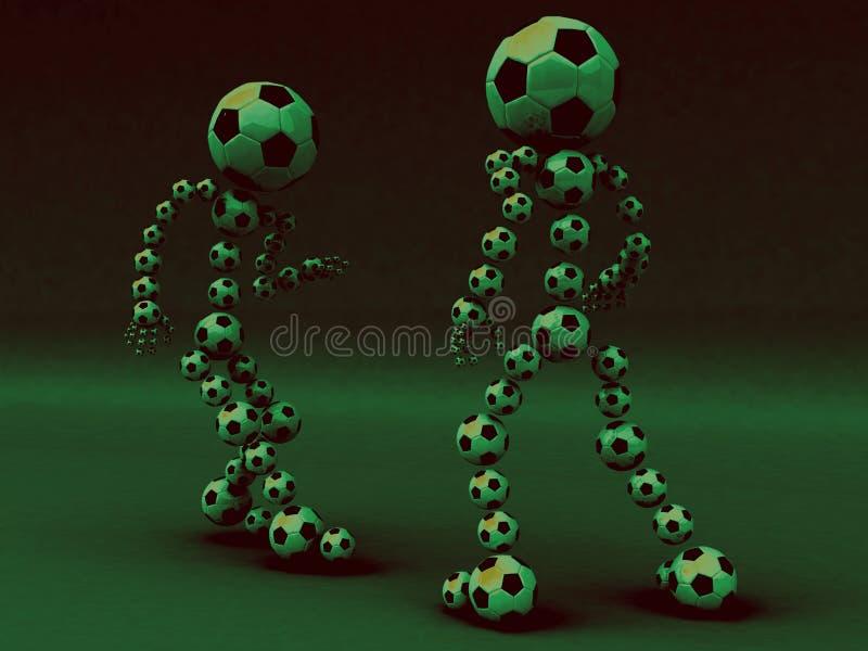 Download Football fight filt stock illustration. Illustration of championship - 10841307