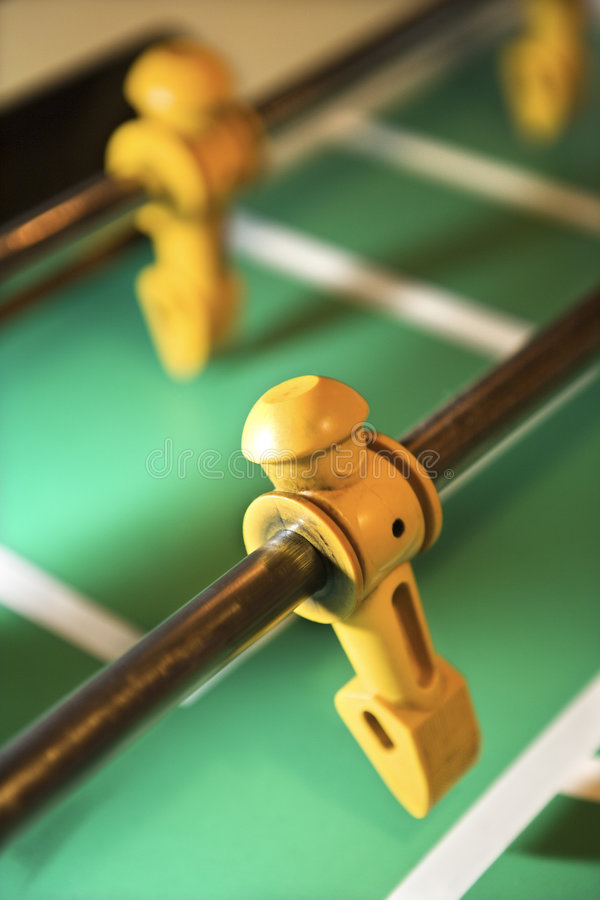 Football figurine. royalty free stock images