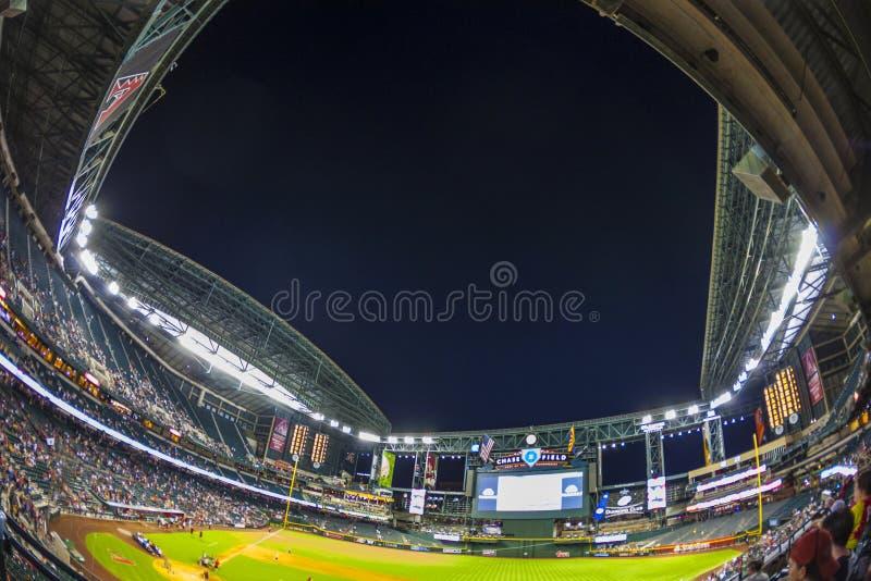 Football game Arizona Diamondbacks royalty free stock images