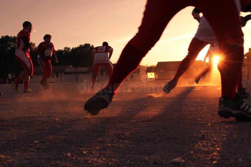 Football Game At Sunset Free Public Domain Cc0 Image