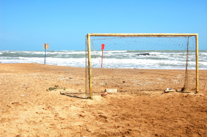 Download Football Gate Stock Image - Image: 6246061