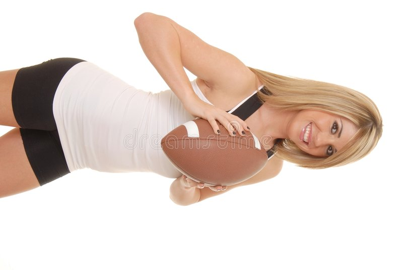 Football Girl 2 royalty free stock photography