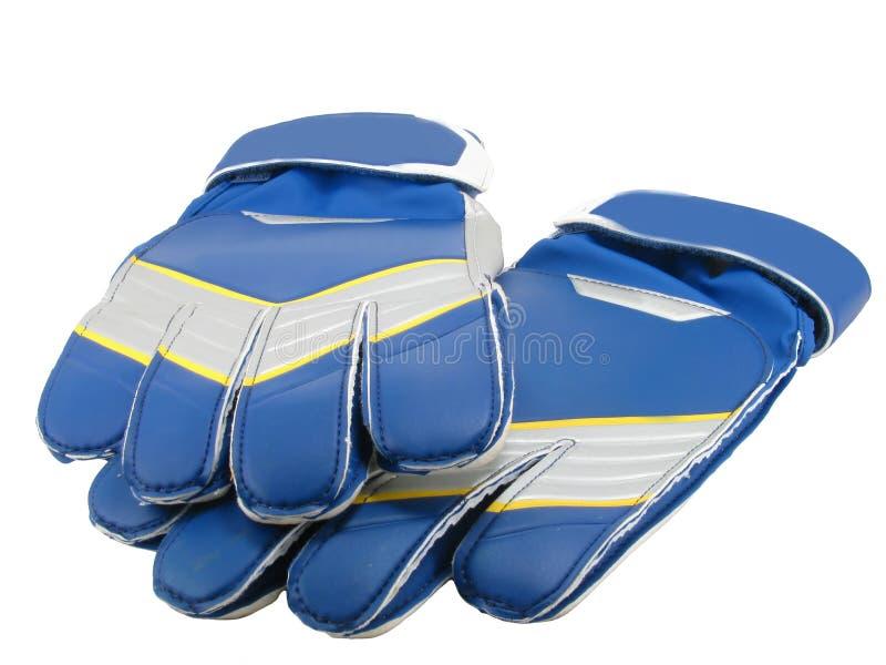 Football gloves royalty free stock photo