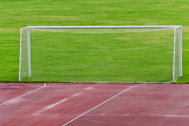 Download Football Goal stock image. Image of sport, outdoors, arena - 24709131
