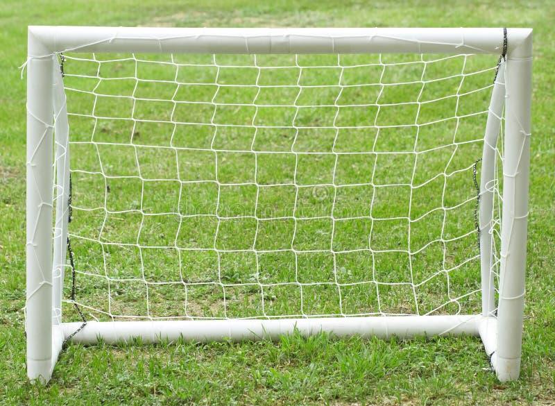Football goal stock photos