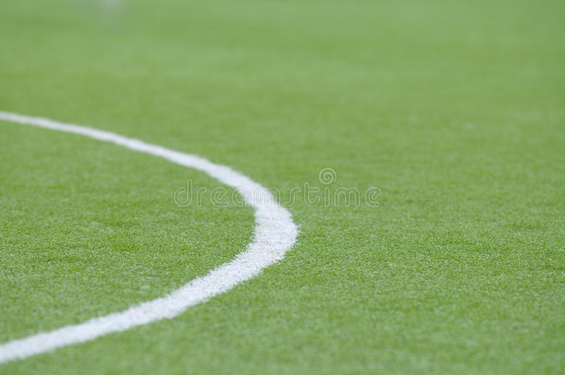 Football grass background. In light and shadow stock image