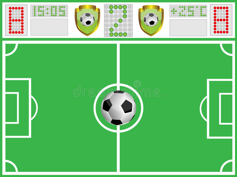 Download Football Ground And Sports Board Stock Images - Image: 15334274