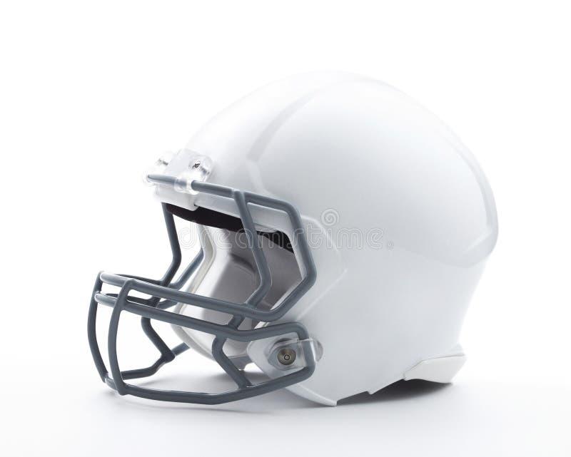 Football-Helm mit Beschneidungspfad stockfotos