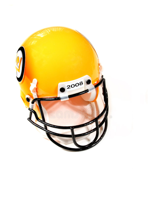 Download Football helmet stock photo. Image of white, isolated - 7172124