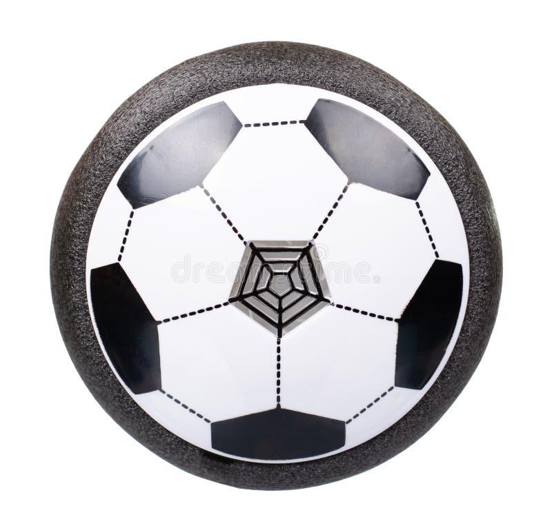 Football, hover-ball, jouet volant pour les enfants Isolé sur blanc photographie stock libre de droits
