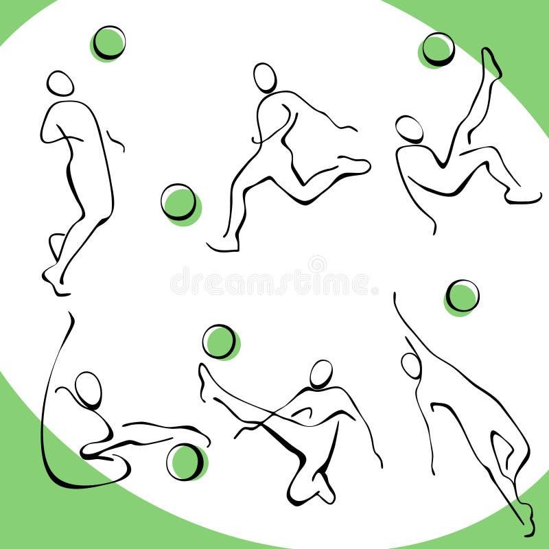 Download Football icons 3. stock vector. Illustration of illustration - 19323290