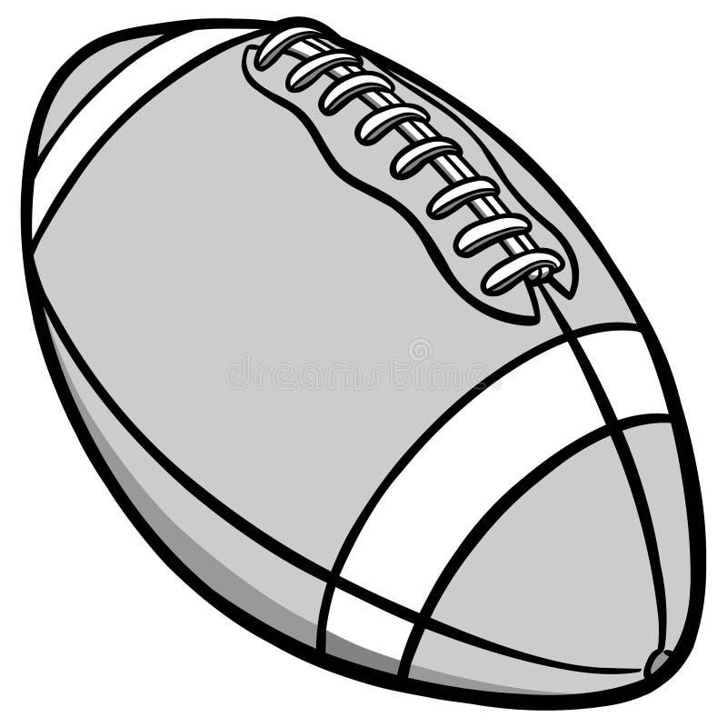 Football Illustration stock illustration