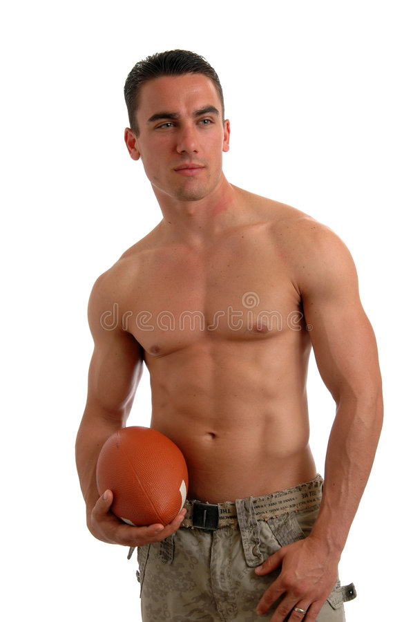 Football Man stock photo