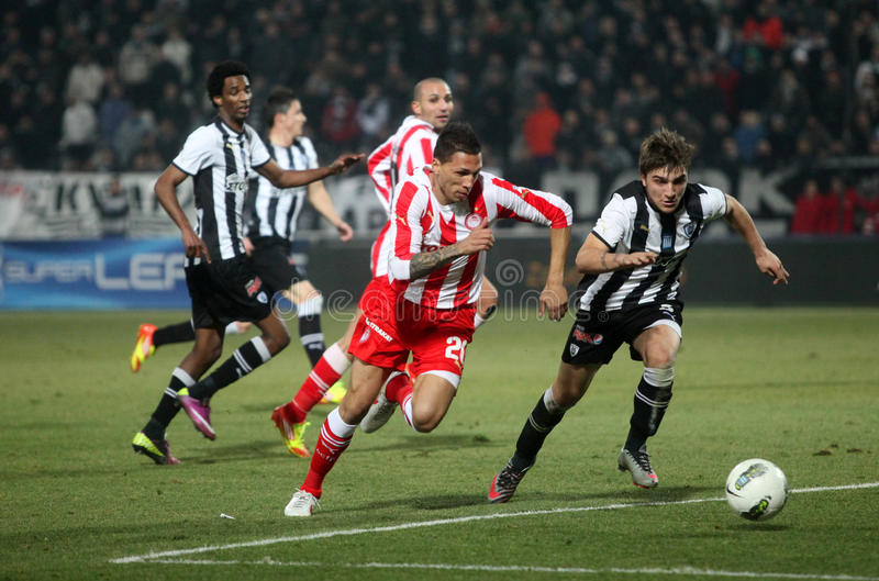 Download Football Match Between Paok And Olympiakos Editorial Photo - Image: 23281751