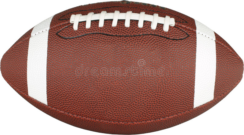 Football Narrow CP stock photo