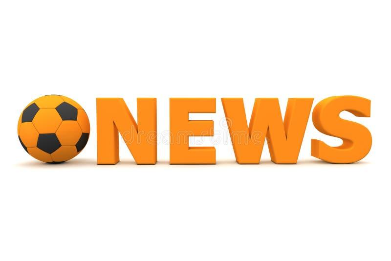 Download Football News - Orange stock illustration. Image of championship - 12926437