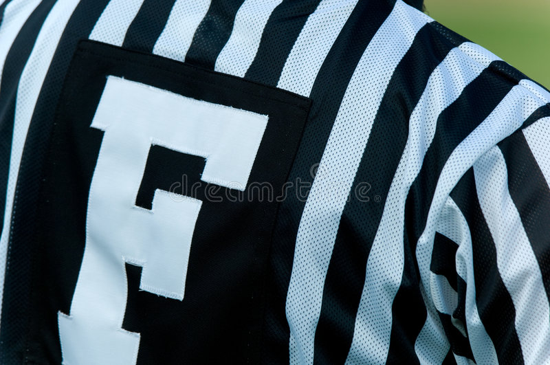 Download Football Official stock image. Image of stripes, shirt - 3259271
