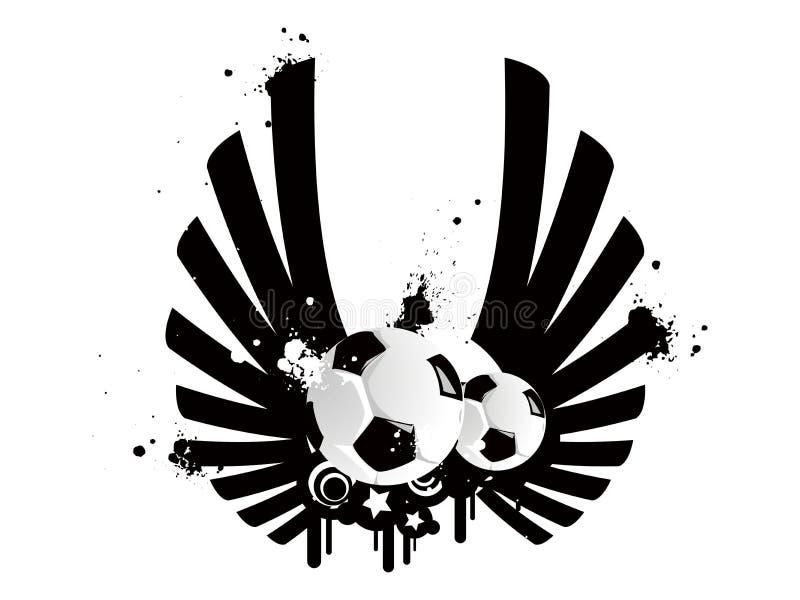 Download Football pattern stock vector. Illustration of heat, power - 3633555