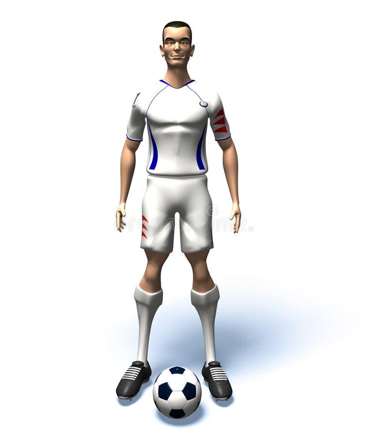 Download Football player stock illustration. Image of health, stadium - 3151810