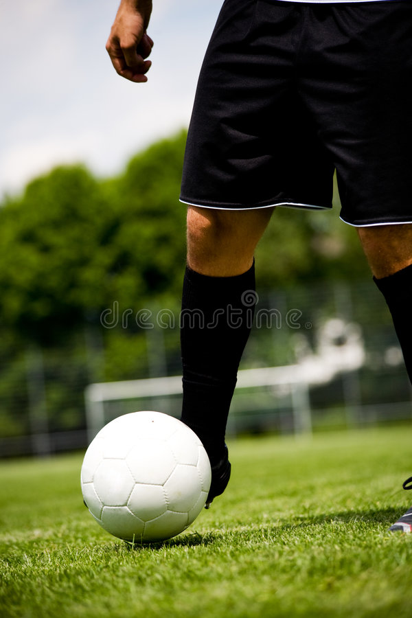 Download Football player 6 stock image. Image of sports, kicking - 5349565