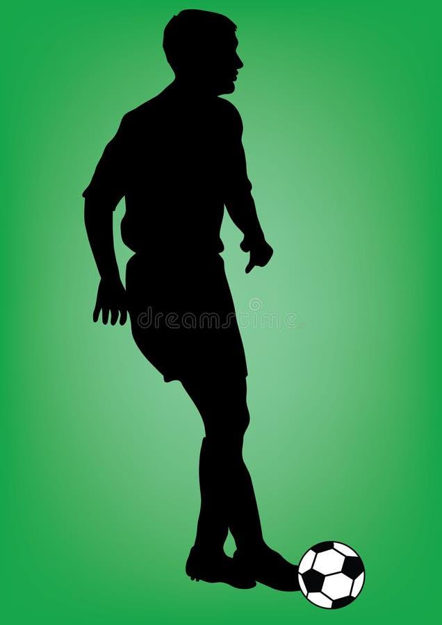 Football Player Royalty Free Stock Photos