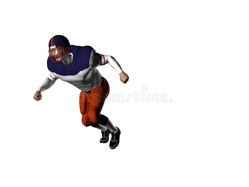 Football Player 9 royalty free stock photography