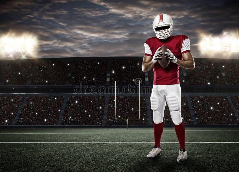 Football Player stock image