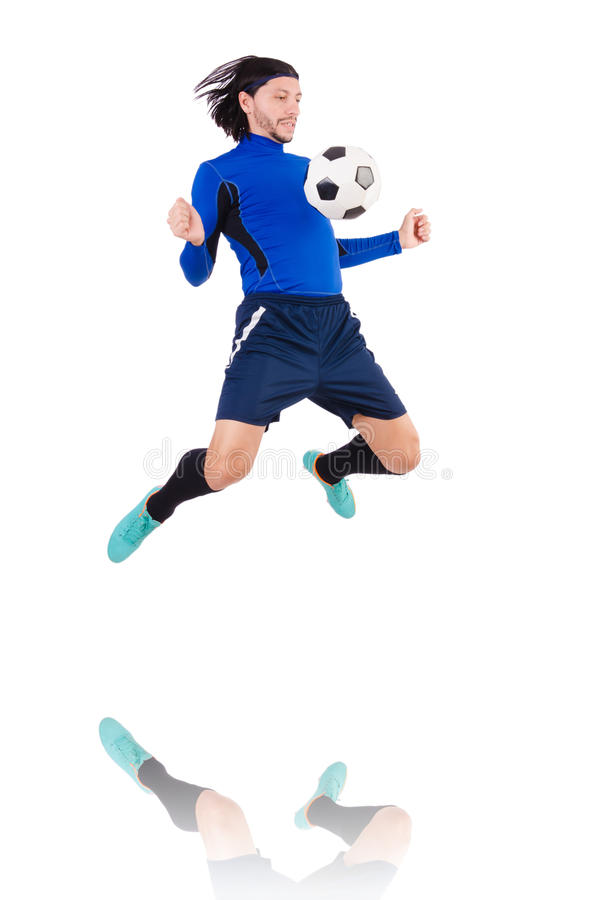 Download Football player stock image. Image of goal, match, football - 36978103