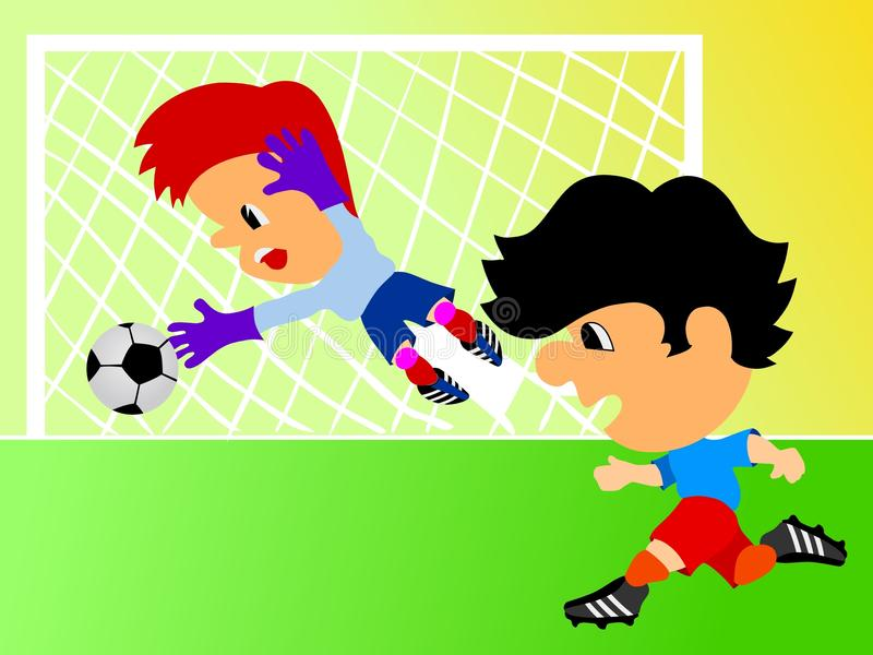 Download Football Players Royalty Free Stock Photography - Image: 14152117