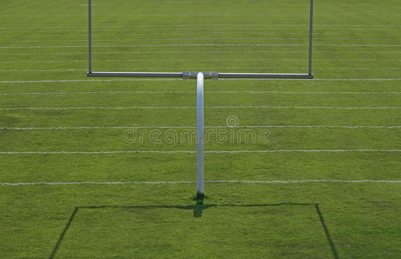 Football Playing Field Stock Images