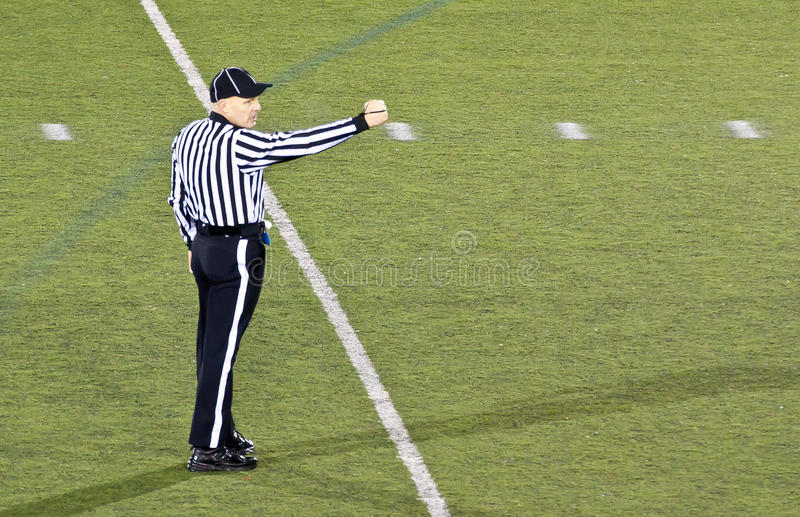 Download Football Referee Making A Signal Editorial Photo - Image: 22711481