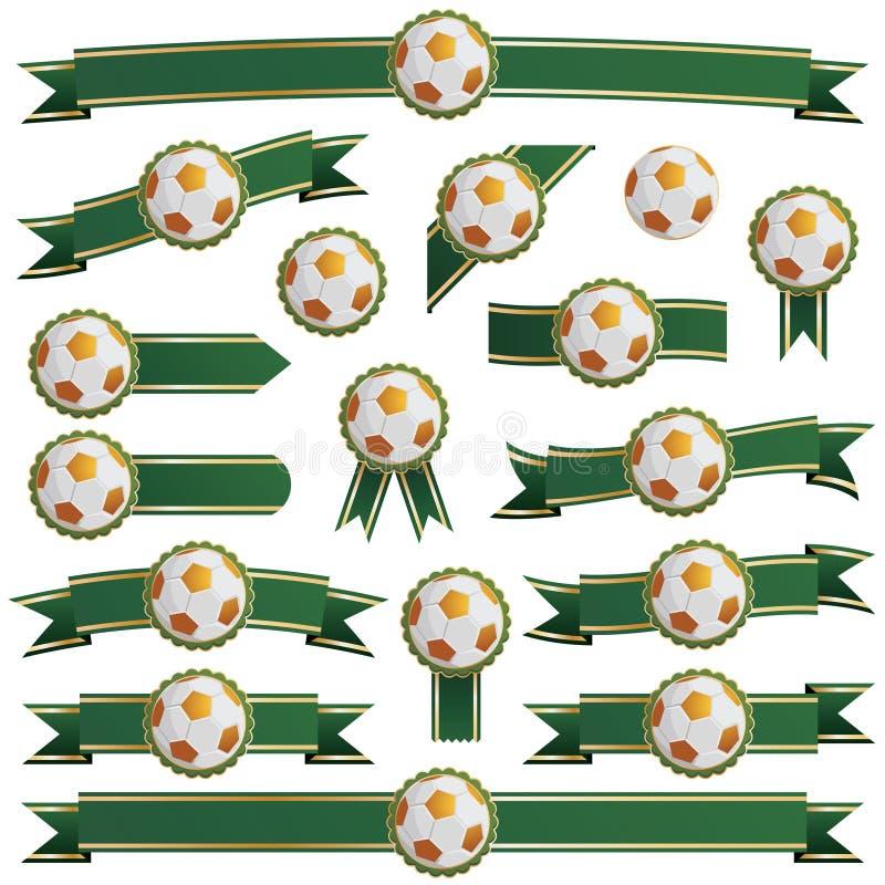 Football ribbons
