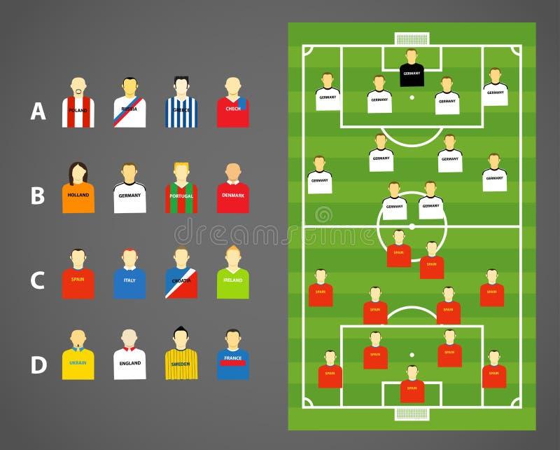 Download Football Scheme Royalty Free Stock Photo - Image: 25200775