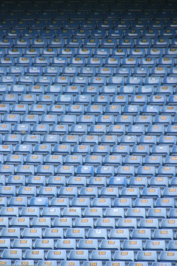 Download Football seats 1 stock photo. Image of stadium, seats, fans - 105702