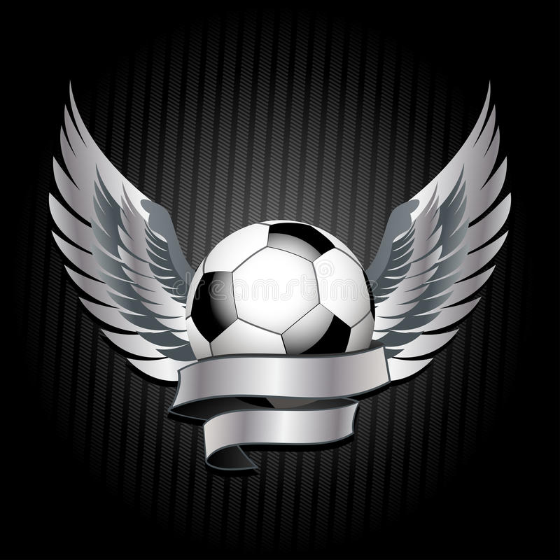 Download Football shield stock illustration. Image of competition - 9565301