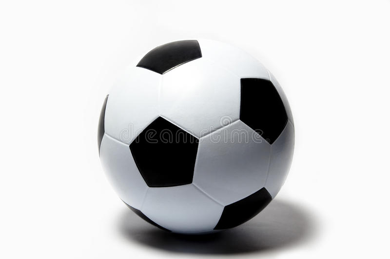 Download Football, soccer ball stock photo. Image of close, black - 14187052