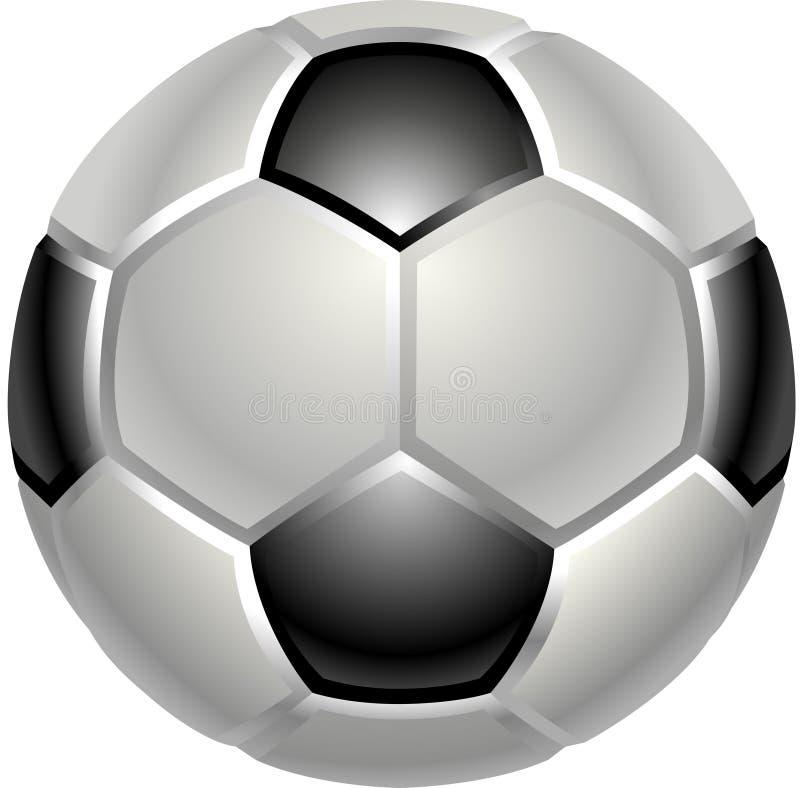 Football Or Soccer Ball Icon Stock Photography
