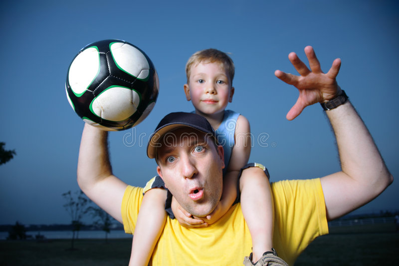 Download Football soccer fans stock photo. Image of parent, play - 5819678