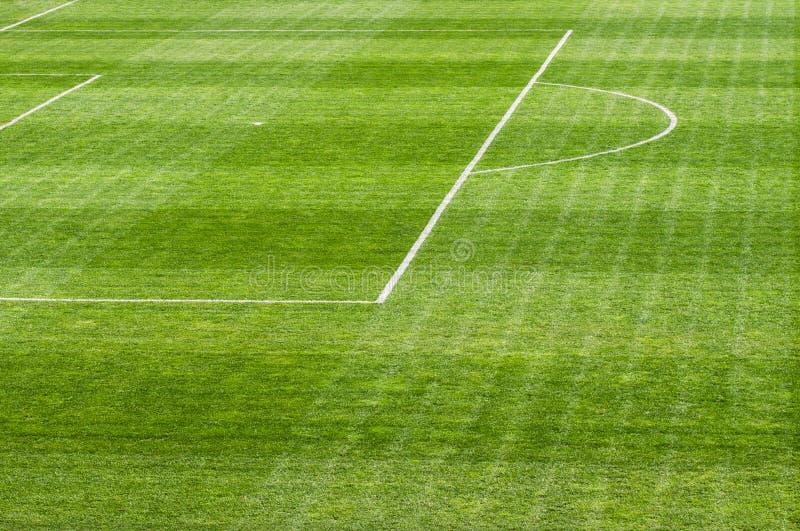 Football soccer field royalty free stock photography