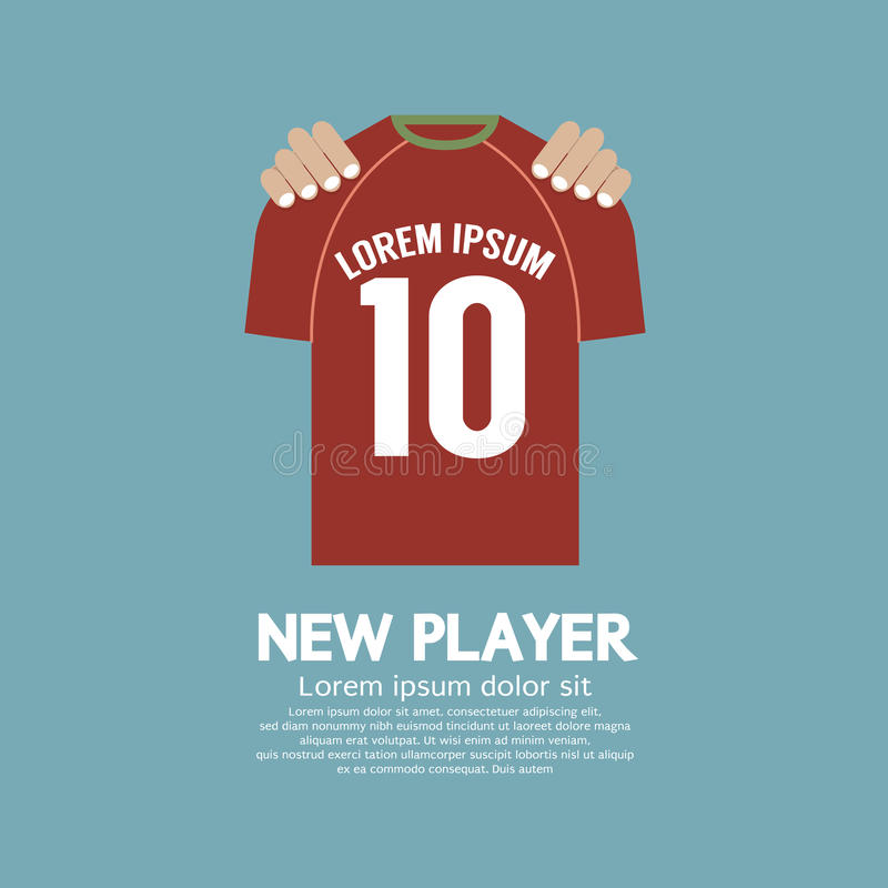 The FootballSoccer Shirt A New Player Contract Signing Concept